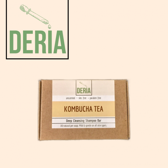 Kombucha Deep Cleansing Shampoo Bar 85g